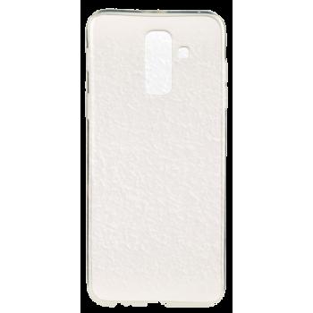 Funda Gel Samsung S4 i9500 Fluor Blanca