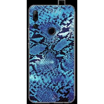 Funda Libro Ventana Samsung Alpha G850F Azul