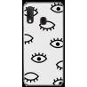 Funda Libro Ventana Samsung Note 4 Edge N9150 Negra