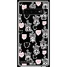 Funda Gel Xperia Z1 Compact Diamantes Rosa