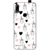 Funda Gel Lg L4 Diamantes Rosa
