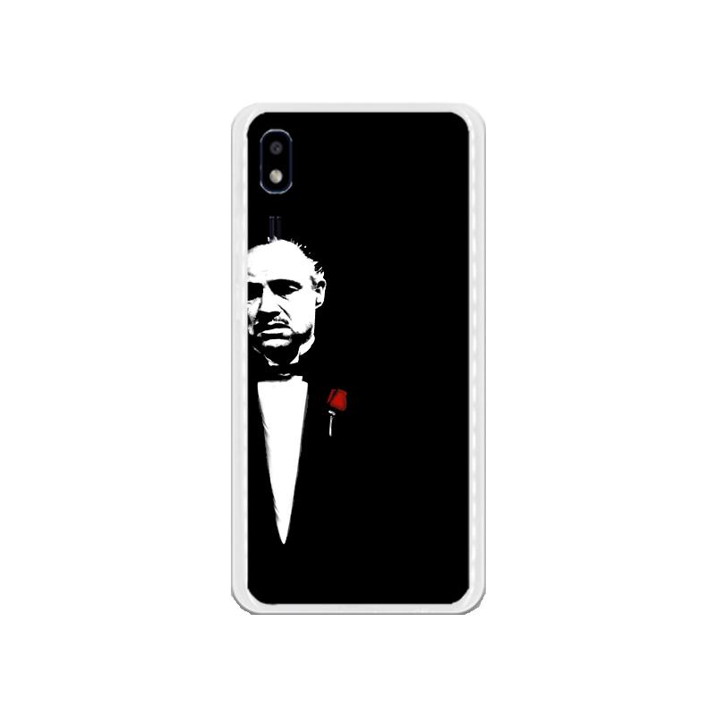 Funda Gel Iphone 7 Transparente Borde Meta Rosa