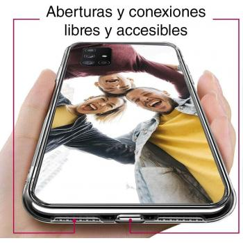 Funda Gel iphone 5 LLL Transparente MOD 4