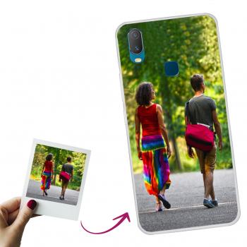 Funda Gel Slim Samsung S7 Edge  Delantera y Trasera