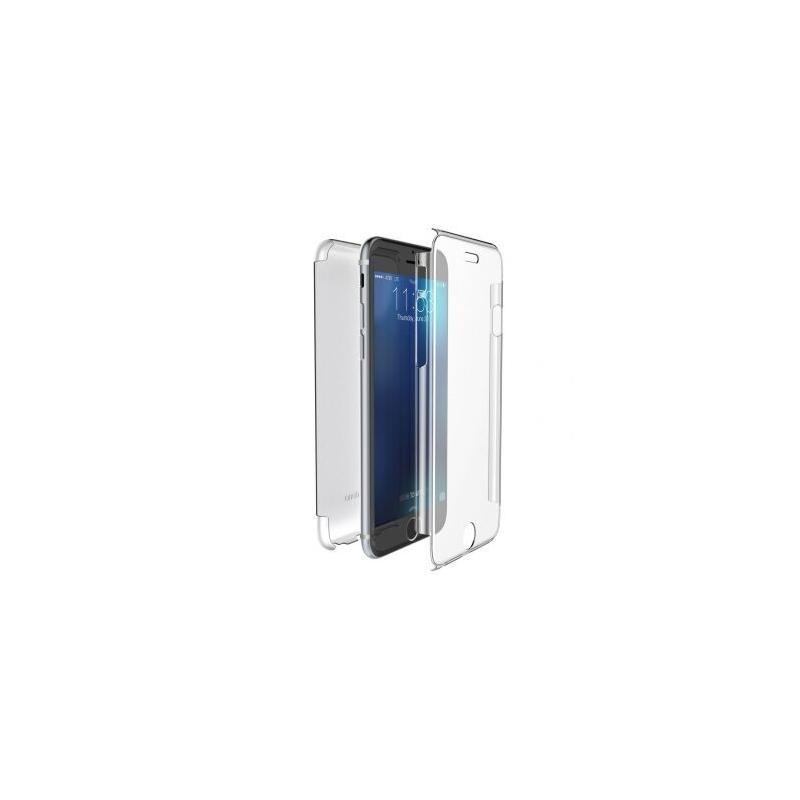 b30e2869ff0 Funda Delantera Trasera Rígida iPhone SE Transparente